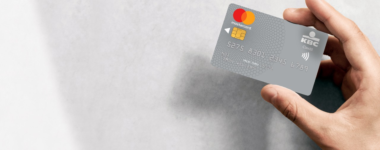 Visa Credit Card Login >> Silver Mastercard with purchase protection - KBC Brussels Bank & Insurance