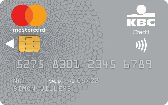 Your Visa Silver card will be replaced by a new KBC Silver Credit Card, which is being provided in collaboration with Mastercard.