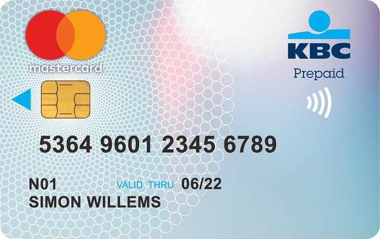 prepaid mastercard from kbc brussels kbc brussels bank insurance