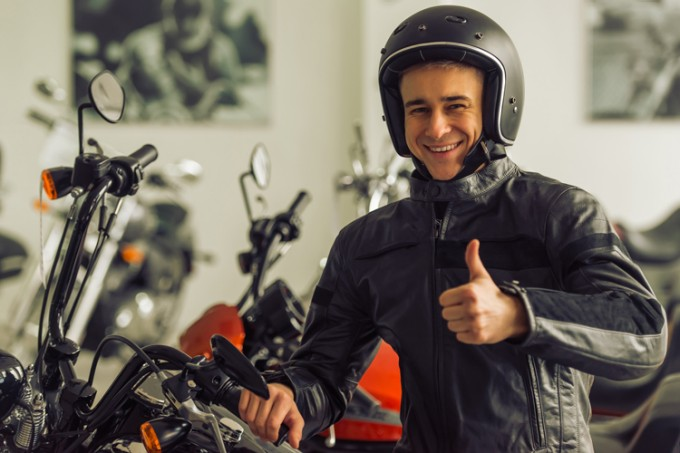 Accident insurance for motorcyclists